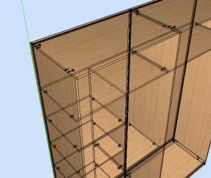 mecanizado armario